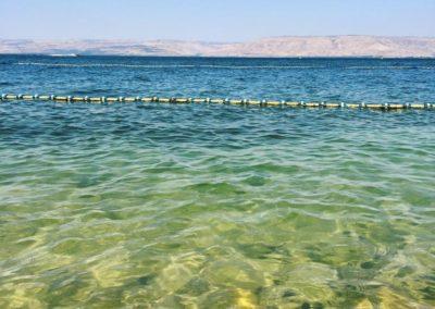 kayaking at the sea of galilee